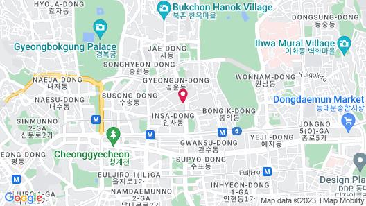 Orakai Insadong Suites Map