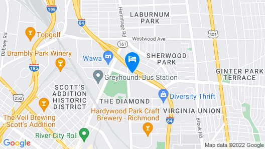 Diamond Inn and Suites Map