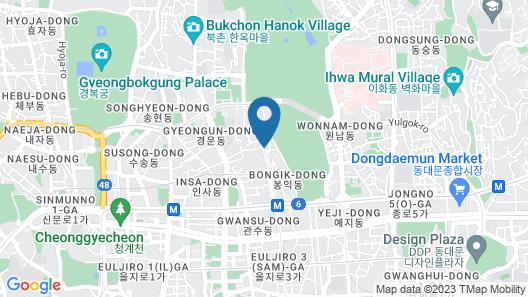 Hostel Tommy Map