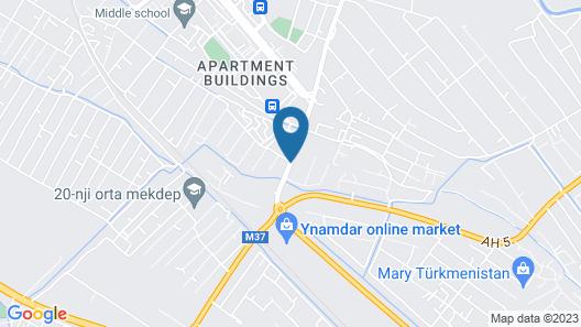 Merwhotel Map