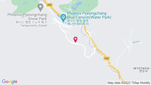 The White Hotel Pyeongchang Map