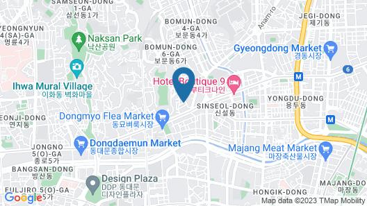 Hostel Korea Original Map