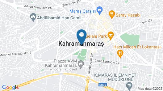 Clarion Hotel Kahramanmaras Map