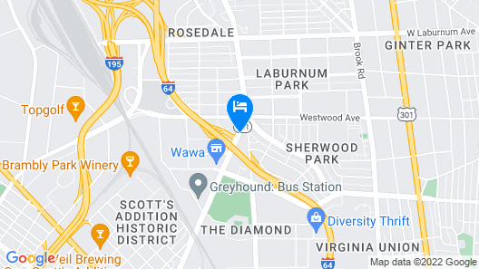 Quality Inn Central Map