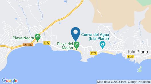 Camping Balneario Los Delfines Map