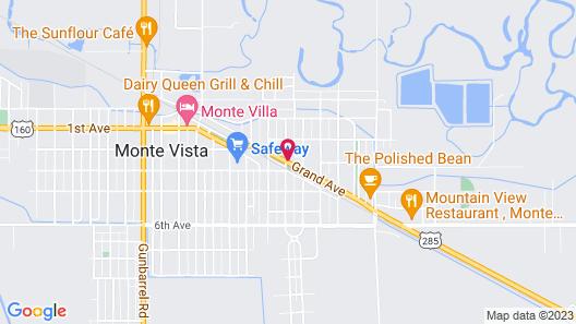 Sandhill Inn & Suites Map