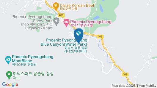 Hanwha Resort Pyeongchang Map