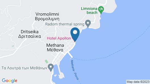 Hotel Apollon Map