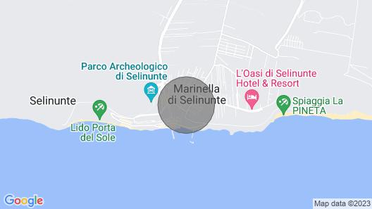 Casa Vacanze in Centro di Selinunte Map