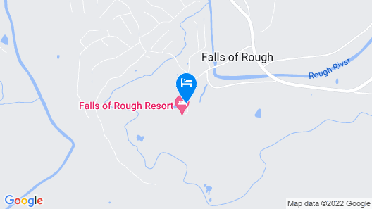Falls of Rough Resort Map