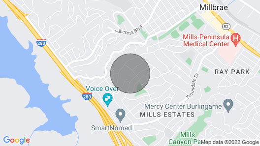 Gorgeous 2.5 Million Dollar Home ON A Hill - 3 Bed, 2 Bath - 20 Mins to SF Map