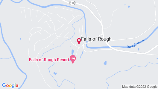 OYO Hotel Falls of Rough KY Route 110 Map