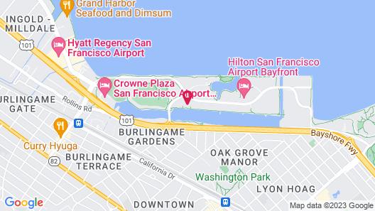 Hilton Garden Inn San Francisco-Airport/Burlingame Map