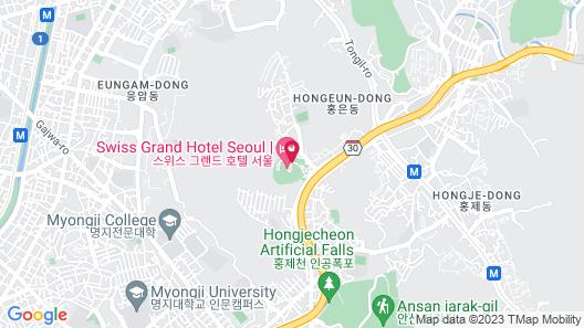 Swiss Grand Hotel (Old Name Grand Hilton Seoul) Map