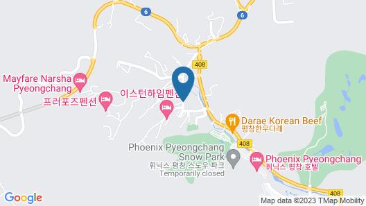 Boosung Park Motel Map