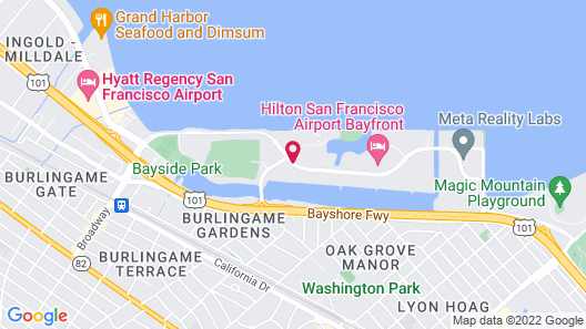 Red Roof Inn PLUS+ San Francisco Airport Map