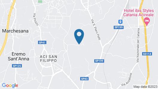 Villa Etna Map