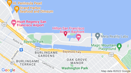 Embassy Suites by Hilton San Francisco Airport Waterfront Map