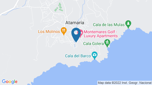 Montemares Golf Luxury Villas and Apartments Map