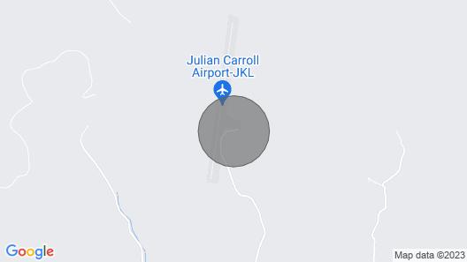 Macos Mountain Resort -rustic Cabin Map