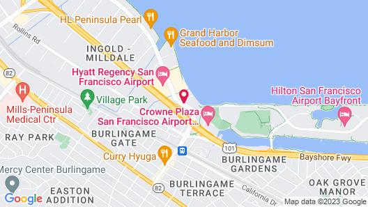 Holiday Inn Express San Francisco Airport South, an IHG Hotel Map