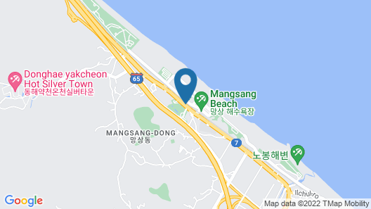 Donghae Boyang Hot Spring Convention Hotel Map