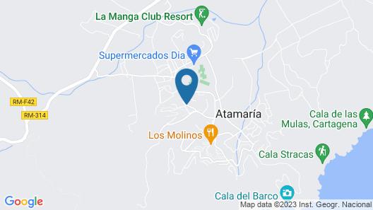 La Quinta at La Manga Club Map