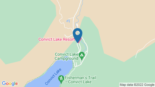 Convict Lake Resort Map