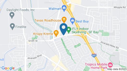Hampton Inn Union City Map