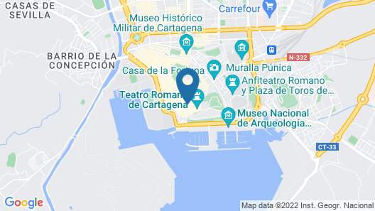 The Cannon House Exclusive in the Center of Cartagena Map