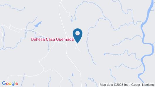 Dehesa Casa Quemada Map