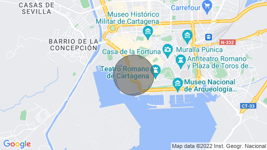 Large Apartment in Downtown Cartagena Real - Arena Map