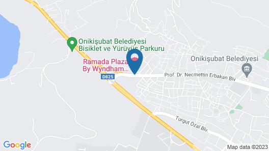 Ramada Plaza by Wyndham Kahramanmaras Map