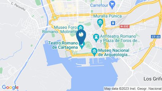Apartamento Teatro Romano III Map