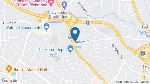 Residence Inn by Marriott Richmond West End Map