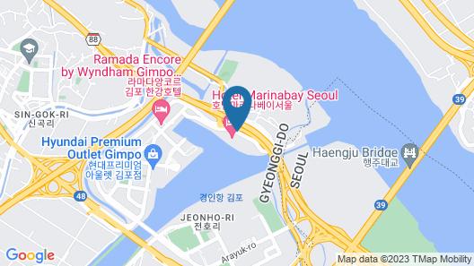 Hotel Marinabay Seoul Map