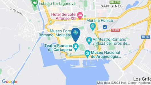 Roman District Apartment Map