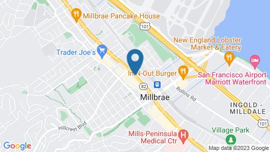 Fairfield Inn & Suites by Marriott San Francisco Airport Map
