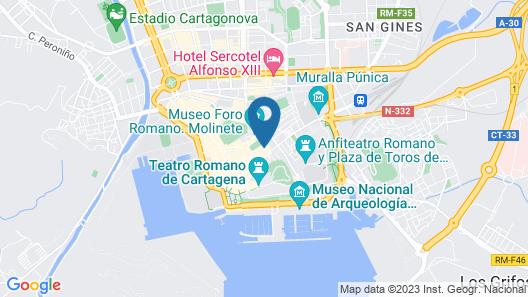 Apartamentos Centro Histórico Map