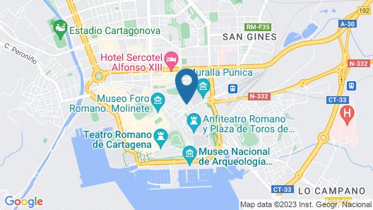 Apartamento Subida de San Diego Centro Histórico Map