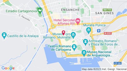 Apartamentos Metrópolis Map