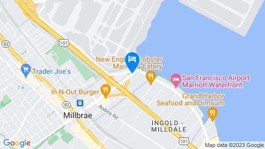 Aloft San Francisco Airport Map