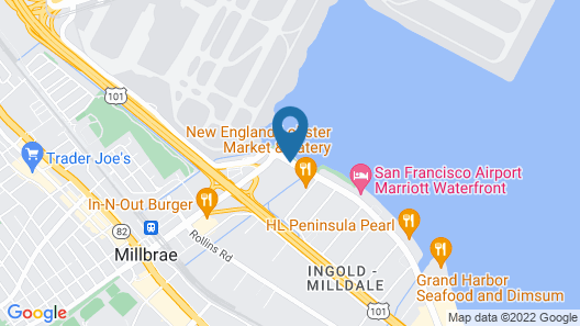 The Westin San Francisco Airport Map