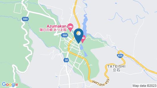 Kunugidaira Hotel Map