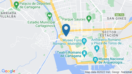 Apartment With Wifi and Free Parking in the Historic Center of Cartagena Map