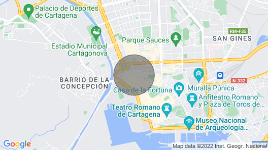 1 Bedroom Apartment With Wifi and Free Parking in the Center of Cartagena Map