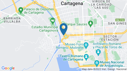 Apartment IN THE Plaza DE España + Parking Map