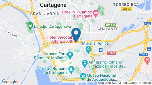 Hotel Sercotel Alfonso XIII Map