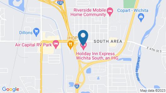 Holiday Inn Express Wichita South, an IHG Hotel Map