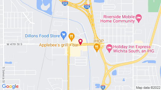 Springfield Inn Map